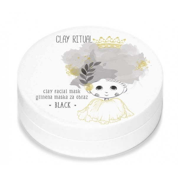 Clay Ritual glinena maska Black