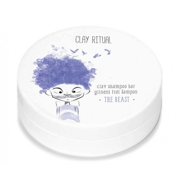 Clay Ritual glineni trdi šampon THE BEAST