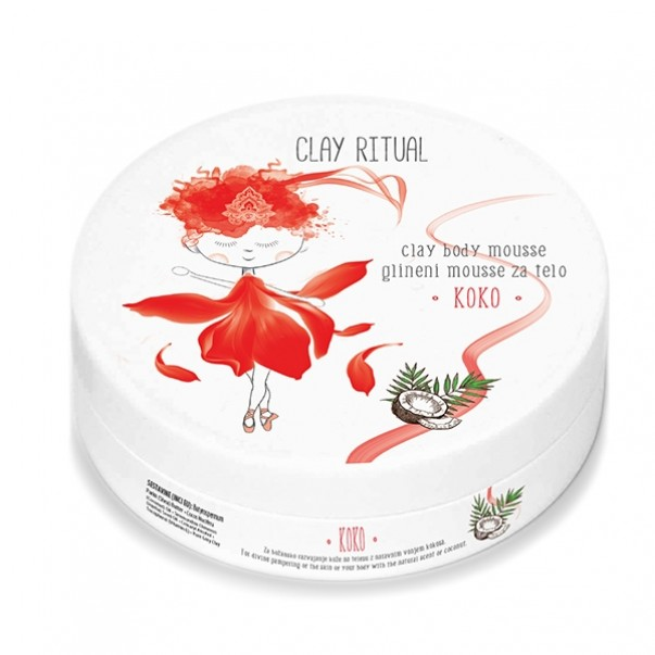 Clay Ritual glineni mousse za telo KOKO