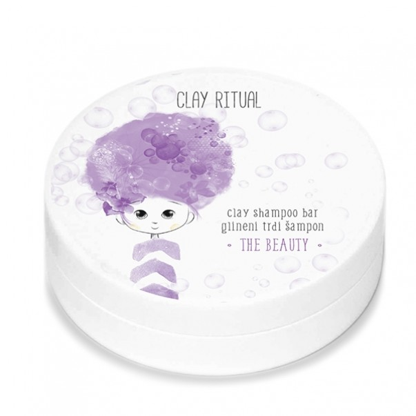 Clay Ritual glineni trdi šampon The Beauty