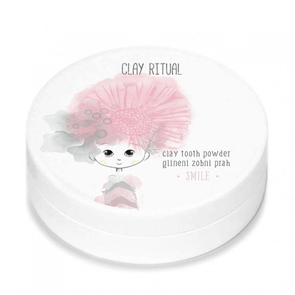 Clay Ritual glineni zobni prah SMILE