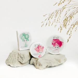 glinasi paket za naravna nega mešane in občutljive kože