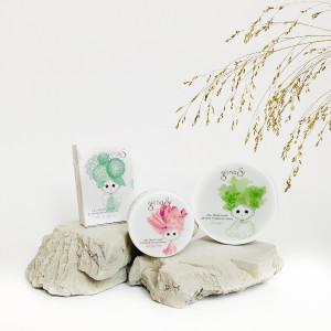 glinasi paket za naravna nega suhe kože