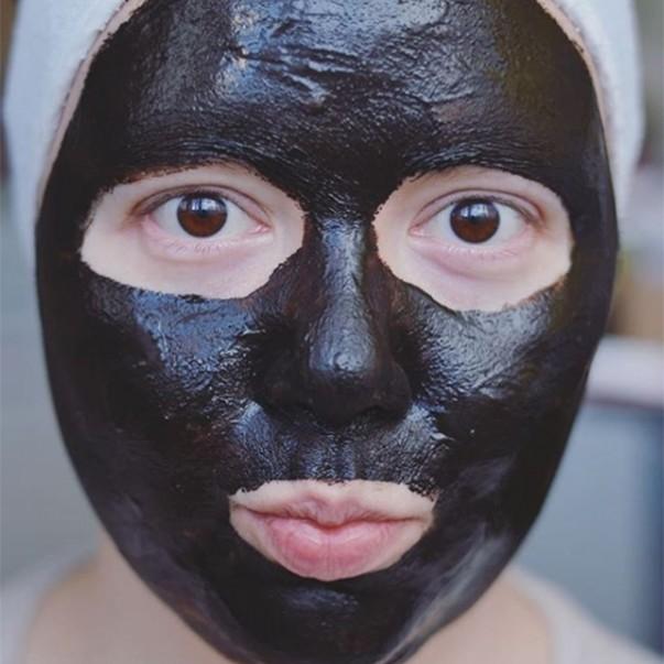 Clay Ritual glinena maska za obraz BLACK