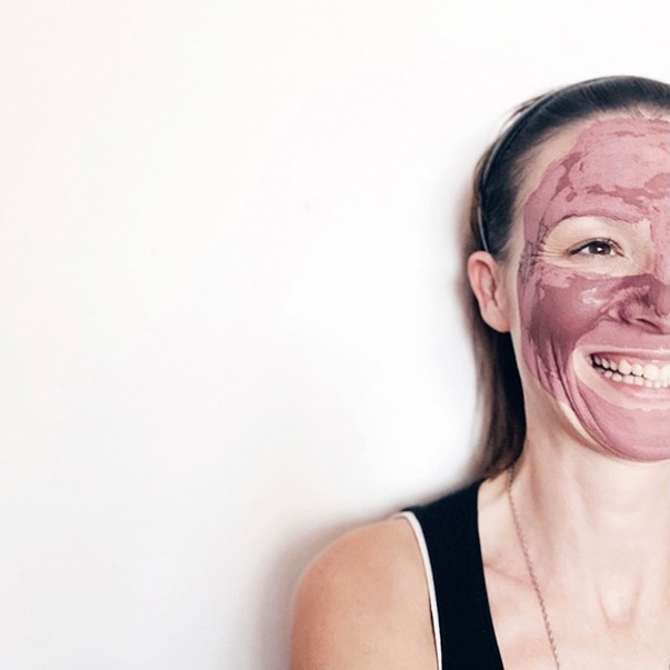 GlinaSi maska za obraz Rose