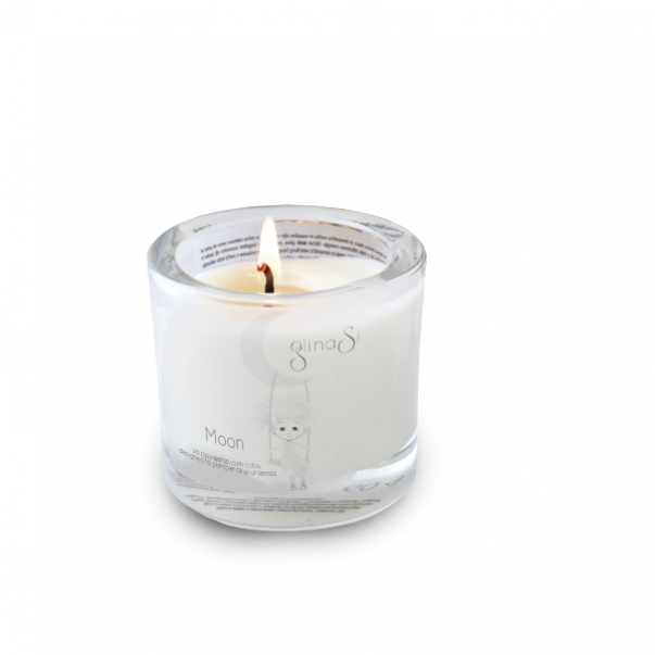 GlinaSi Glinena masažna svečka MOON
