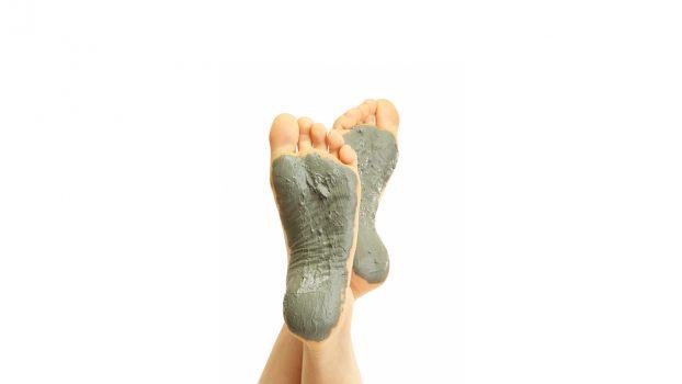 Glina in stopala