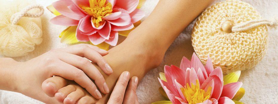 Clay Ritual masaža stopal in zemljevid refleksnih točk